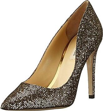 Miss KG Frenchy2 - Zapatos de Tacón para Mujer, Color Dorado - Gold (Metal Comb), Talla 38 EU