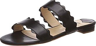 Sandalen, Sandales Plateforme Femme, Noir (Nero), 42 EUFabio Rusconi