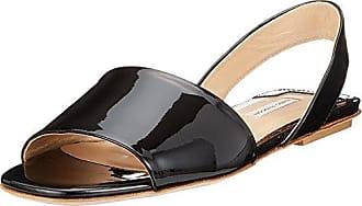 Sandaletten, Sandales Bout Ouvert Femme, Noir (Nero), 38.5 EUFabio Rusconi
