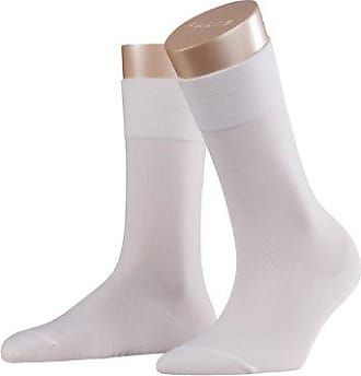 Falke Calcetines opacas para mujer, talla 41/42, color blanco crudo (off-white) 2049