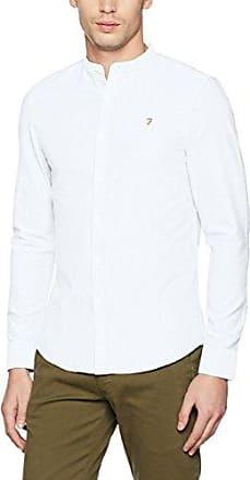 Tensington, Camisa Casual para Hombre, Gris (Asphalt 074), Small Farah