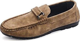 Fashion Inception Pro Infinite®-(Größe 42 Geeignet für ein 26 Fuß 5 cm Lang) Beige Slipper Herren Schuhe-ZY-114