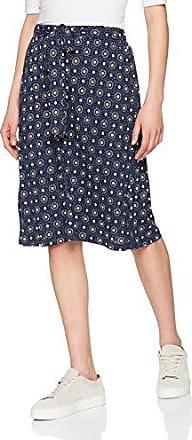 Dash Broidery, Falda para Mujer, Azul (Navy), 42 (Talla del fabricante: 14)