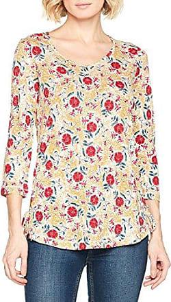 Fat Face Rosie Ruffle, Camiseta para Mujer, Amarillo (Dandelion), 40