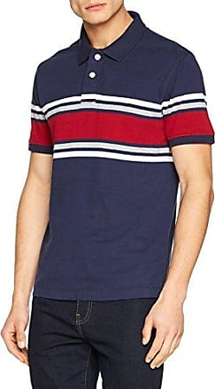 Fat Face Highlight Stripe, Polo Homme, Bleu (Dark Ink Blu), XS