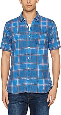 Coleby Check, Chemise Casual Homme, Blue (Dark Ink), LargeFat Face
