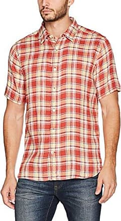 Fat Face Whitby Check, Chemise Casual Homme, Red (Rosehip), Medium