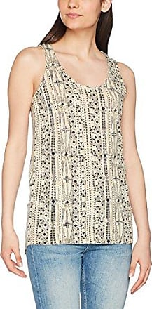 Fat Face Maisy Earth Tribal, Camiseta para Mujer, Beige (Stone Nat), 44
