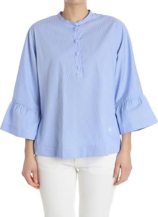 Light blue and white striped blouse Fay