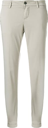 cropped skinny trousers - Nude & Neutrals Fay