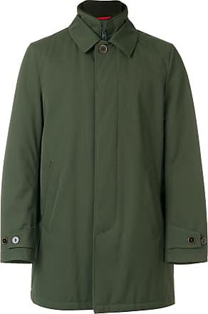 Mens Coat On Sale in Outlet, Grey, Virgin wool, 2017, L S XL XXL Fay