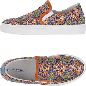 loafer sneakers - Blue Fef��