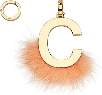 Fendi necklaces shop up to 40 stylight fendi abclick c pendant charm yellow orange mozeypictures Images