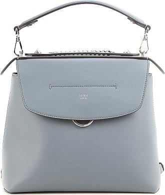 Fendi Backpack for Women On Sale, Back To School, Palladium, Leather, 2017, one size