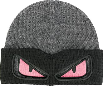 Hat for Women On Sale, Dark Night Blue, Wool, 2017, 10 Fendi