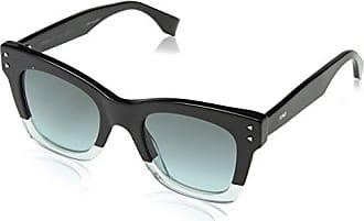 Womens Ff 0128/S J6 Sunglasses, Dkhavan Blck, 54 Fendi