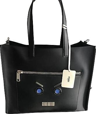 gebraucht - Tasche mit Fransen - Damen - Blau - Wildleder Fendi