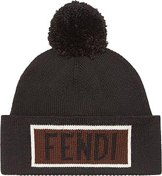 Hat for Women On Sale, Navy Blue, Wool, 2017, Universal size Fendi