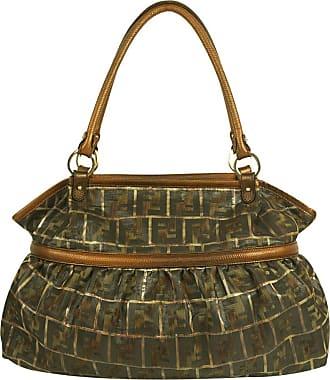 gebraucht - Baguette Bag - Damen - Braun - Canvas Fendi