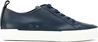 classic lace-up sneakers - Blue Fendi