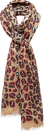 splash FF maxi stole scarf - Nude & Neutrals Fendi