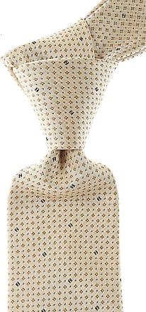 Ties On Sale, Cream, Silk, 2017, one size Fendi