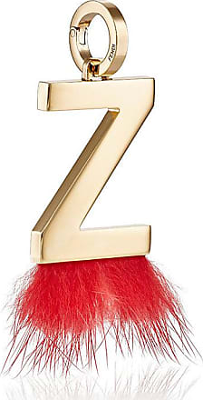 Fendi ABClick Z pendant charm - Red