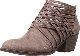 Fergalicious Women's Battle Ankle Boot, Sand, 5 M US