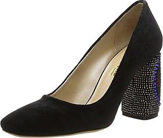 Fersengold, Zapatos de Cordones Derby para Mujer, Negro (Schwarz 199), 40 EU