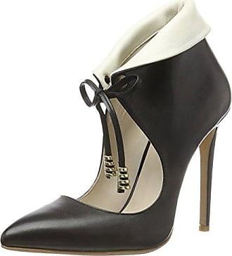 Istanbul, Zapatos de Tacón con Punta Cerrada para Mujer, Negro (Schwarz Schwarz), 36 EU Fersengold