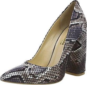 Fersengold, Zapatos de Tacón con Punta Cerrada para Mujer, Beige (Nude 191), 37 EU