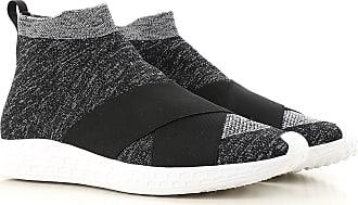 Slip on Sneakers for Men On Sale, Grey, Fabric, 2017, 10 7 Fessura