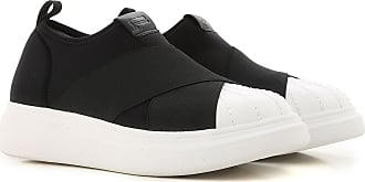 Slip on Sneakers for Women On Sale, Black, Neoprene, 2017, 4.5 5.5 6.5 7.5 Fessura