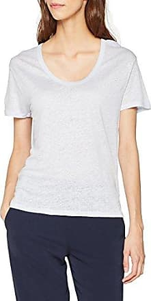 Filippa K Linen Sweatshirt Tee, T-Shirt Manches Longues Femme, Ecru (Navajo), 42 (Taille Fabricant:Large)