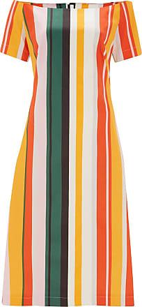 Loxham Stripe off Shoulder Cotton Sundress Finery