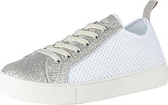 Fiorucci FEPM065, Zapatillas para Mujer, Blanco (Bianco/Silver Bianco/Silver), 38 EU