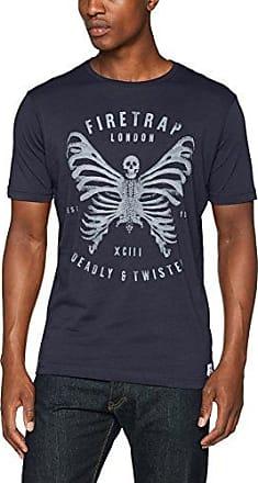 Maleb, T-Shirt Homme, Bleu (Total Eclipse CS11), XLFiretrap