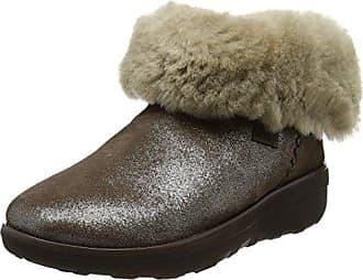 FitFlop Mukluk Shorty 2 Shimmer Boots, Bottines Femme, (Bronze 012), 36 EU
