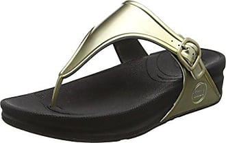FitFlop Superjelly, Sandales Femme Gold (Gold Mirror), 38 EU