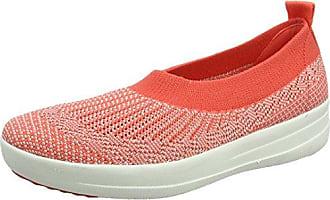 Jack Wolfskin Portland Cruise Low Rot-Grau, Damen EU 42 - Farbe Hot Coral Damen Hot Coral, Größe 42 - Rot-Grau