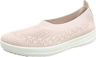 Damen Uberknit Slip-on Sneaker, Rosa (Neon Blush 460), 36 EU FitFlop