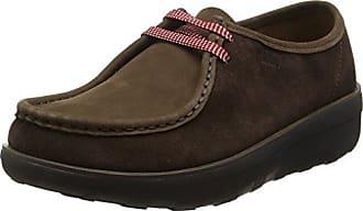 Padders Alex - Mocasines de Cuero para Hombre, Color Marrón (Antique Brown), Talla 47