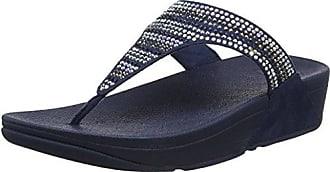 Flossy CECILIAWOM - Sandalias de Lona Mujer, Color Azul, Talla 38