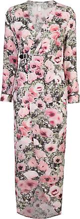 poppy print wrap maxi dress - Pink & Purple Fleur du Mal
