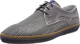 Floris Van Bommel 14027, Zapatillas para Hombre, Gris (Grey 00), 46 EU