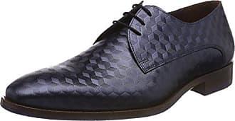 Floris Van Bommel 14168, Zapatos de Cordones Derby para Hombre, Gris (Grey 00), 45 EU