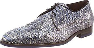 Floris Van Bommel 14168, Zapatos de Cordones Derby para Hombre, Gris (Grey 00), 42 EU