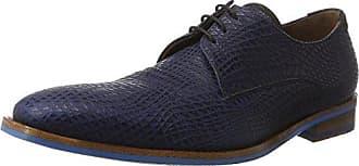 Floris Van Bommel 14027, Zapatillas para Hombre, Azul (Dark Blue 01), 42.5 EU