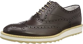 Florsheim Rumford, Zapatos de Cordones Brogue para Hombre, Marrn (Dk.Brown 04), 44 EU