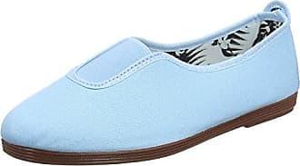 Azafra, Alpargatas para Mujer, Azul (Light Blue 000-Lt BLU), 36 EU Flossy